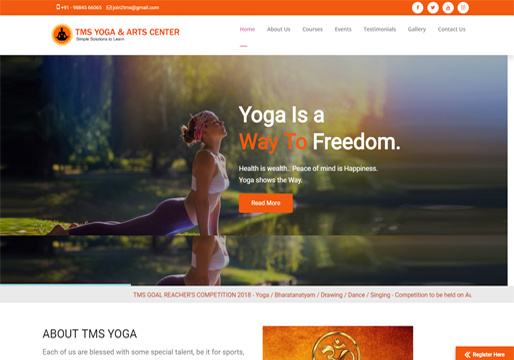 TMS Yoga Arts